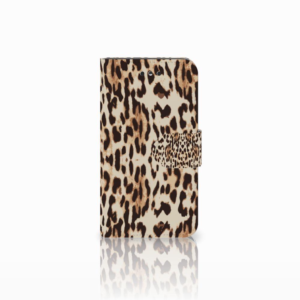 Nokia 1 Uniek Boekhoesje Leopard