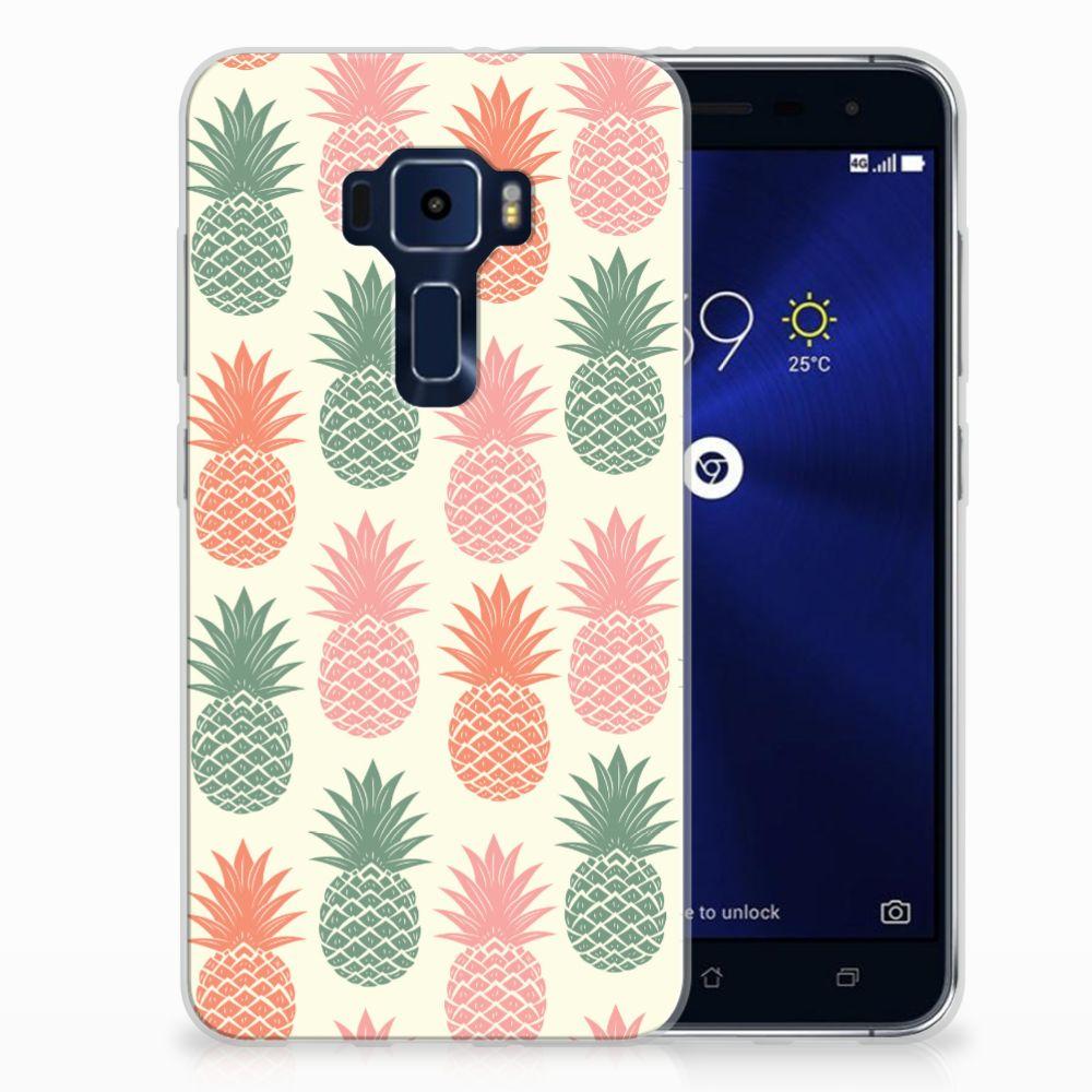 ASUS Zenfone 3 TPU Hoesje Design Ananas