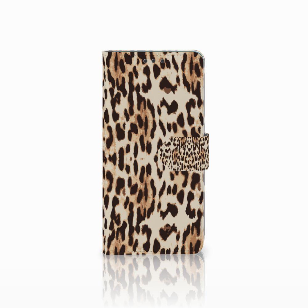 Huawei Mate 20 Uniek Boekhoesje Leopard