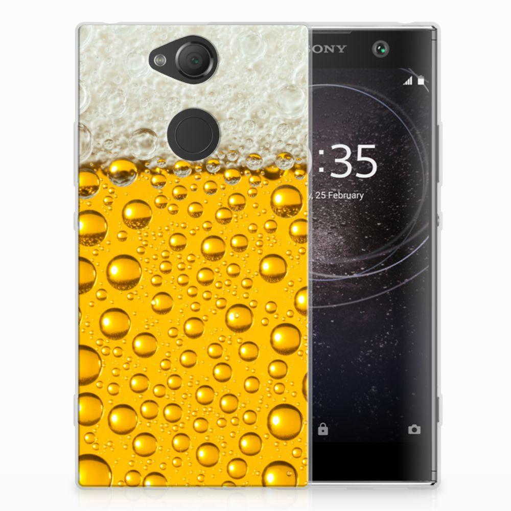 Sony Xperia XA2 Siliconen Case Bier