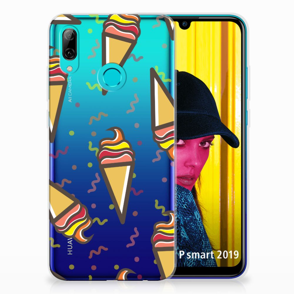 Huawei P Smart 2019 Siliconen Case Icecream