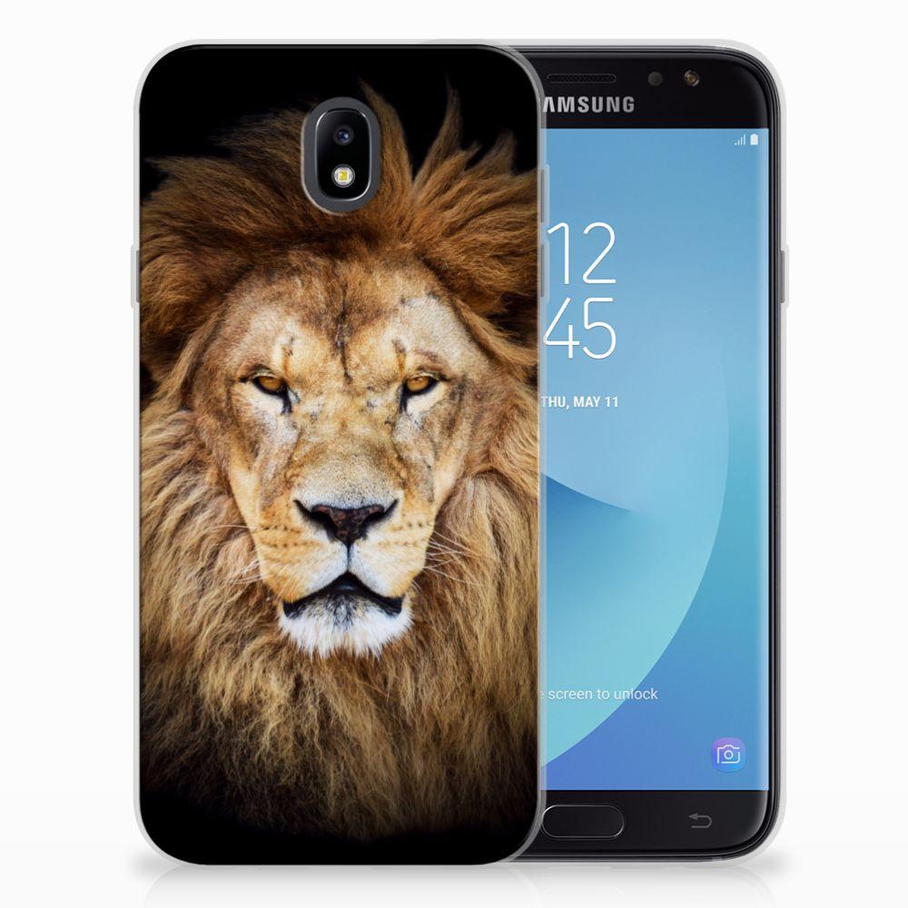 Samsung Galaxy J7 2017 | J7 Pro TPU Hoesje Design Leeuw