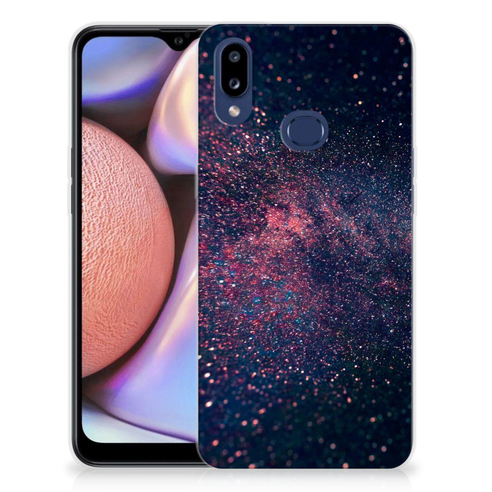 Samsung Galaxy A10s TPU Hoesje Stars