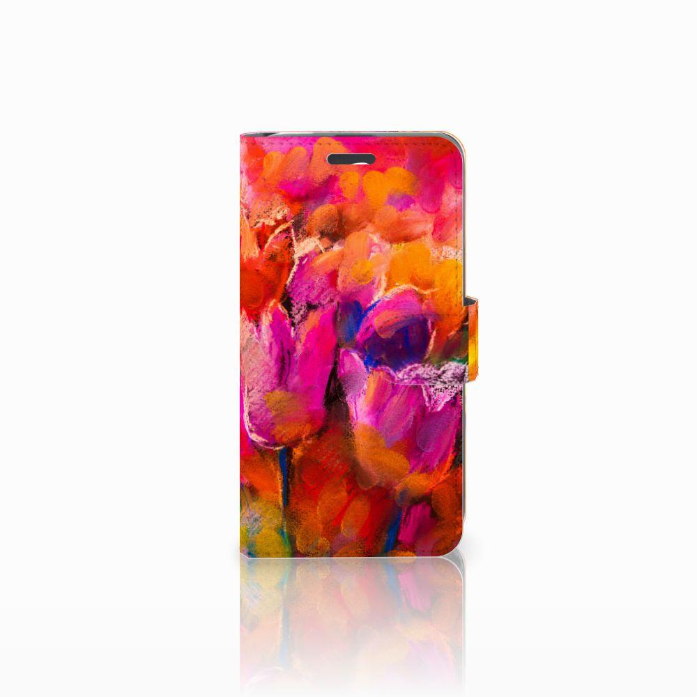 Acer Liquid Z520 Boekhoesje Design Tulips