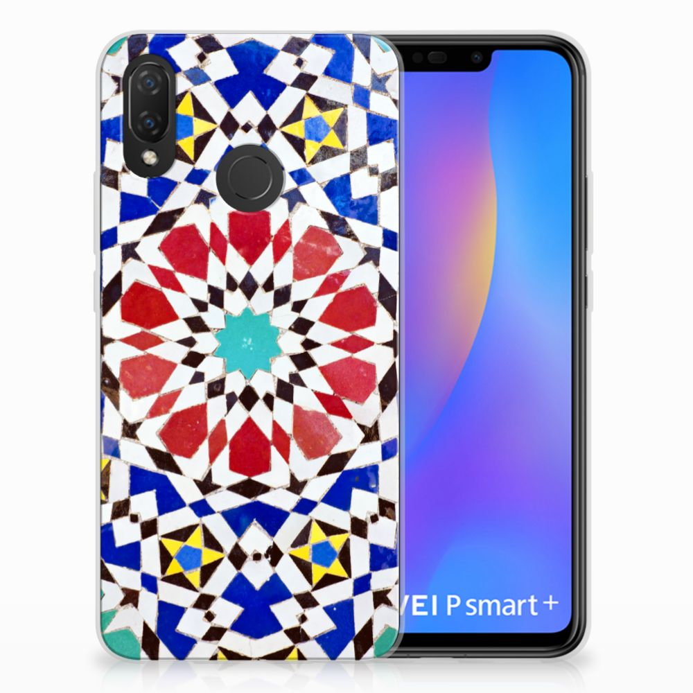 Huawei P Smart Plus TPU Hoesje Design Mozaïek