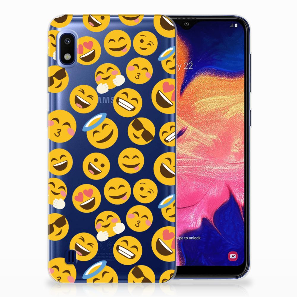 Samsung Galaxy A10 TPU bumper Emoji