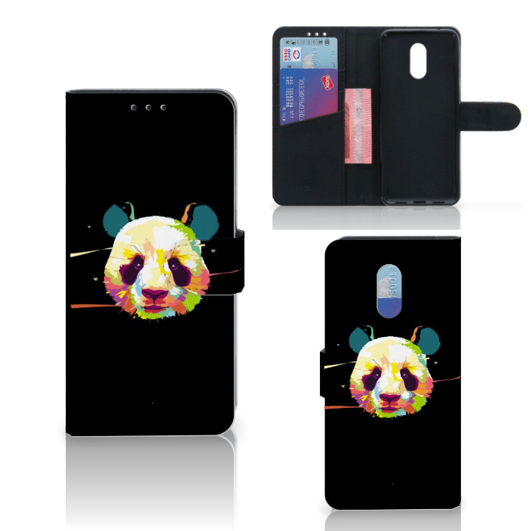 OnePlus 6T Leuk Hoesje Panda Color