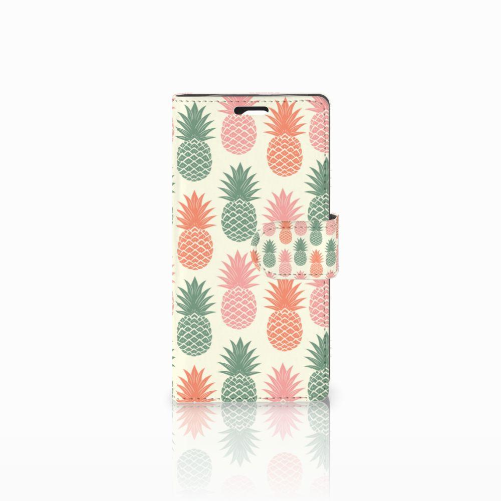 LG Spirit Boekhoesje Design Ananas