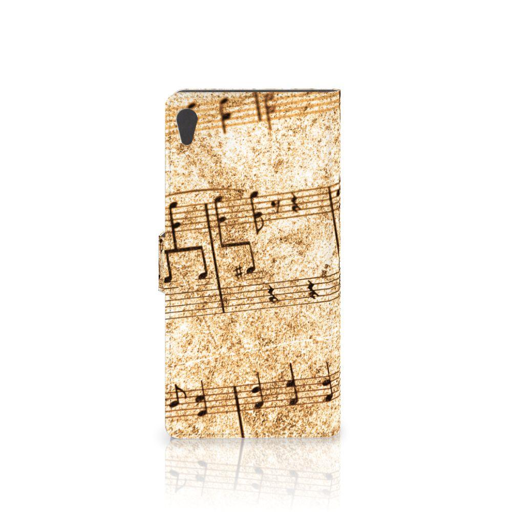 Sony Xperia XA Ultra Telefoonhoesje met foto Bladmuziek
