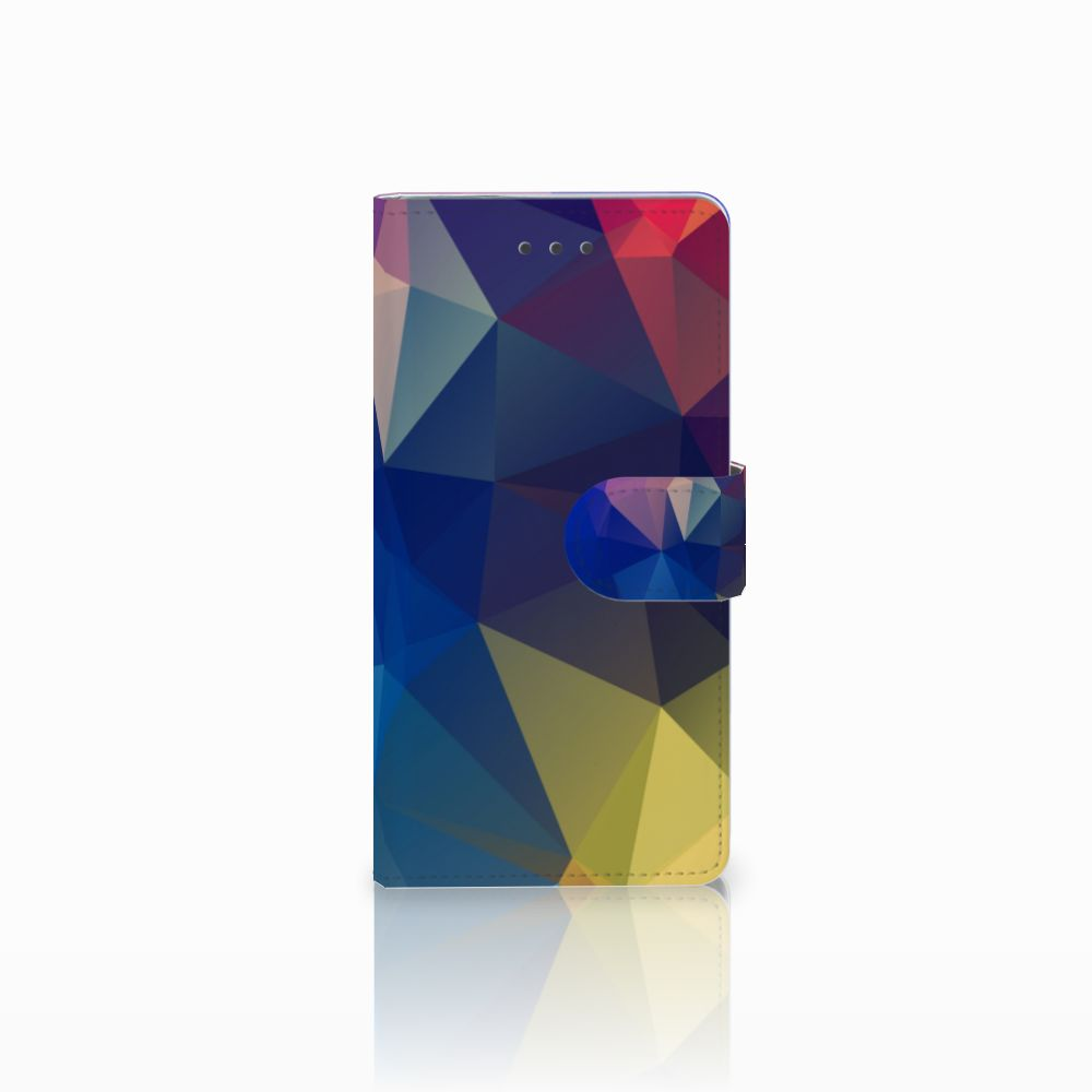 Huawei P8 Bookcase Polygon Dark