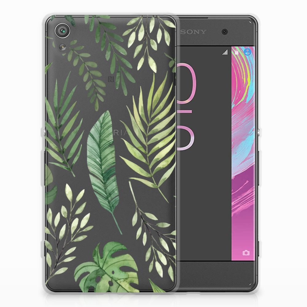 Sony Xperia XA | XA Dual TPU Case Leaves