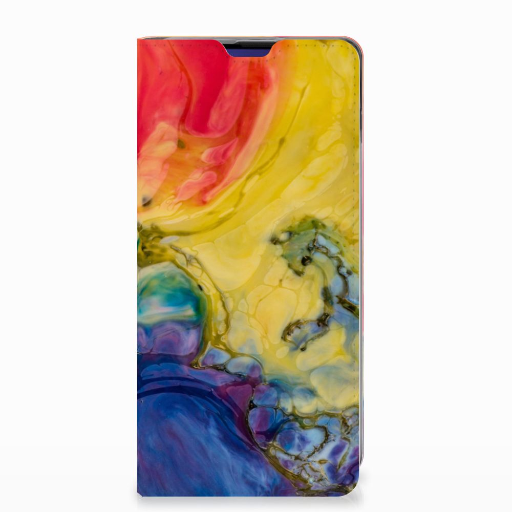 Bookcase Samsung Galaxy S10 Watercolor Dark
