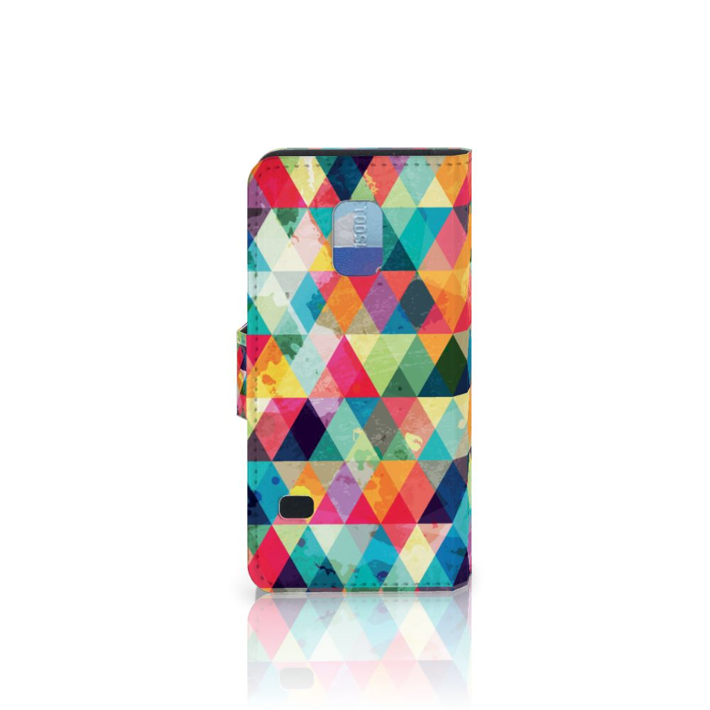 Samsung Galaxy S5 Mini Telefoon Hoesje Geruit