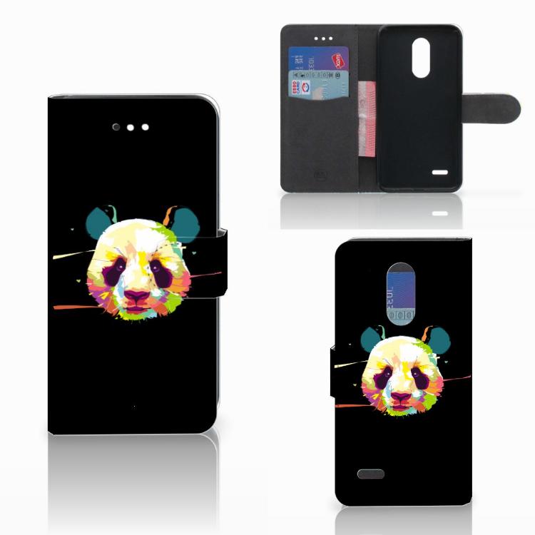 LG K11 Leuke Hoesje Panda Color