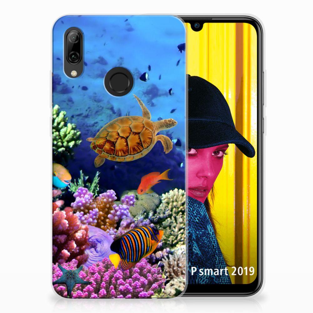 Huawei P Smart 2019 TPU Hoesje Design Vissen