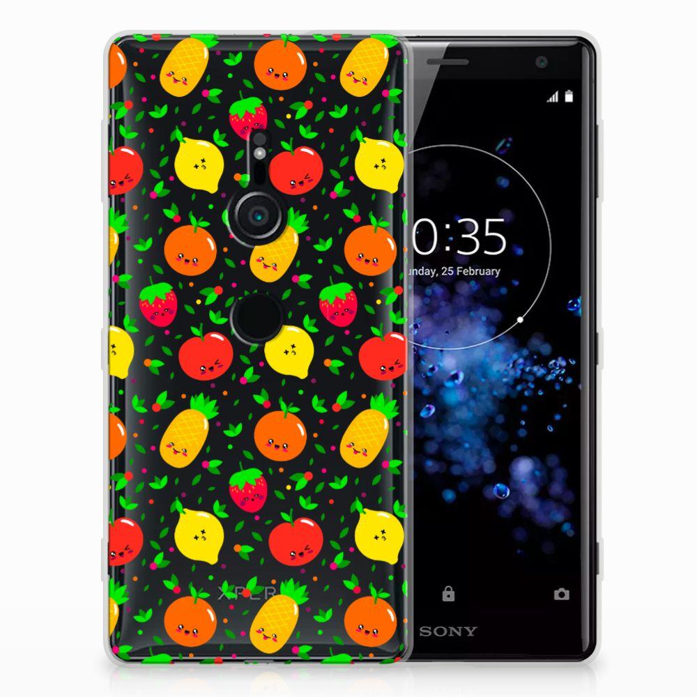 Sony Xperia XZ2 TPU Hoesje Design Fruits