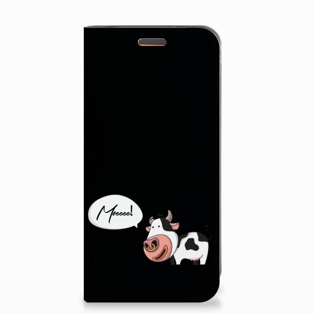 Motorola Moto E5 Play Magnet Case Cow