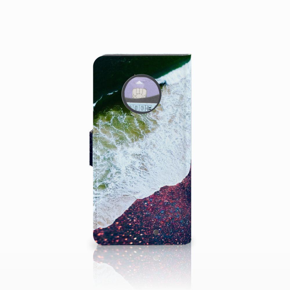 Motorola Moto X4 Bookcase Sea in Space