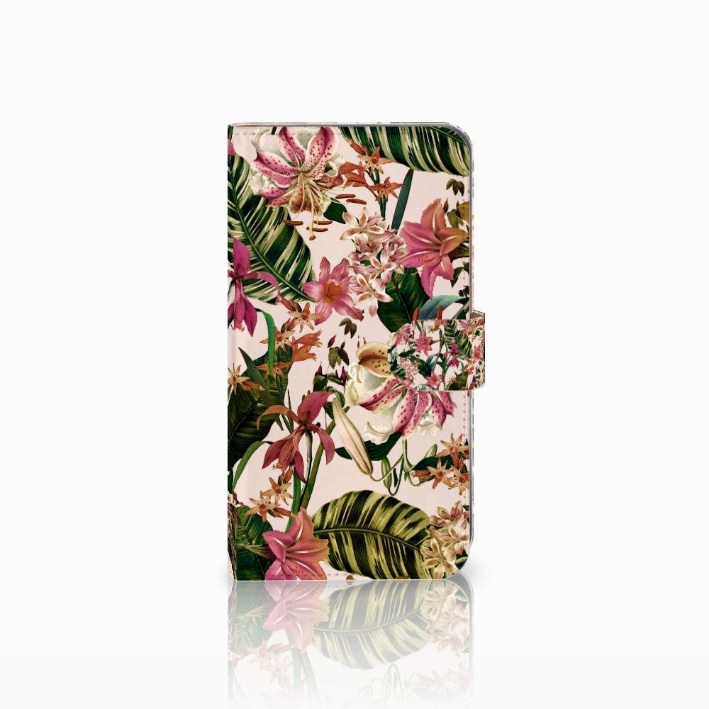 Huawei Mate 9 Uniek Boekhoesje Flowers