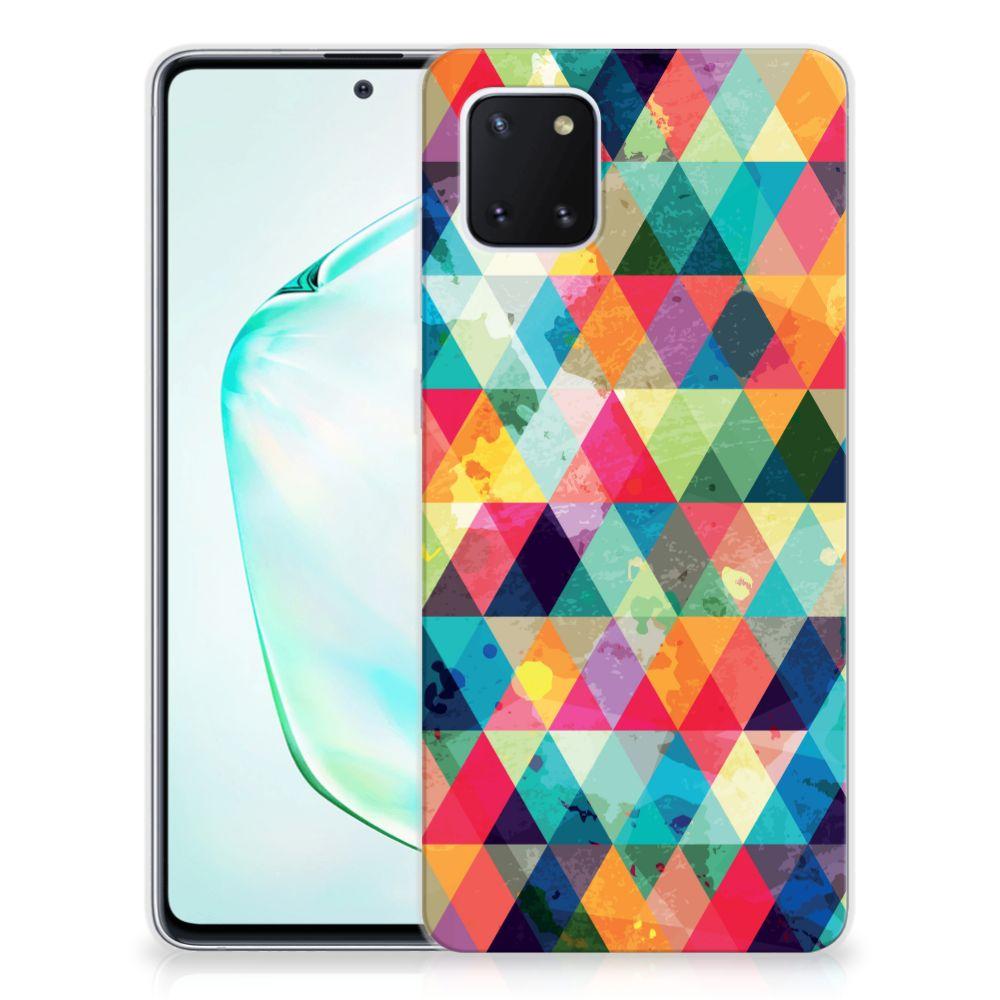 Samsung Galaxy Note 10 Lite TPU bumper Geruit
