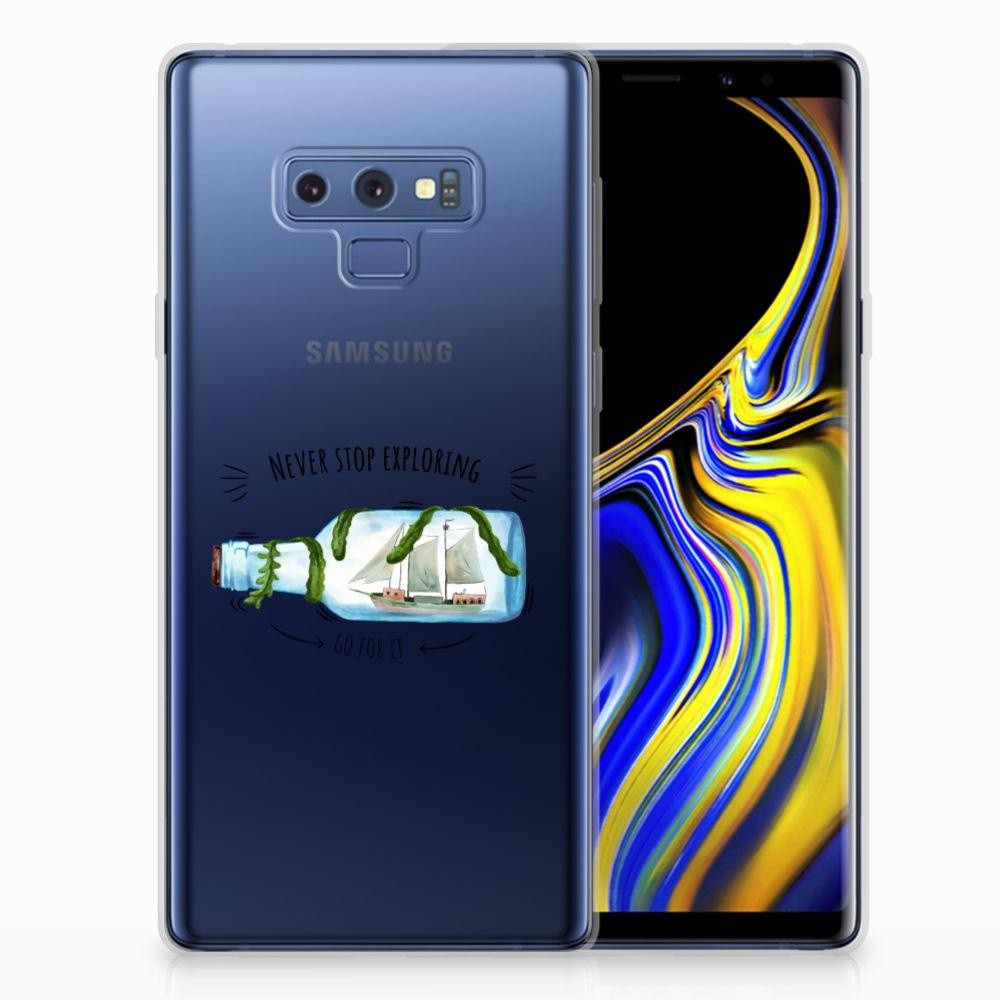 Samsung Galaxy Note 9 Telefoonhoesje met Naam Boho Bottle