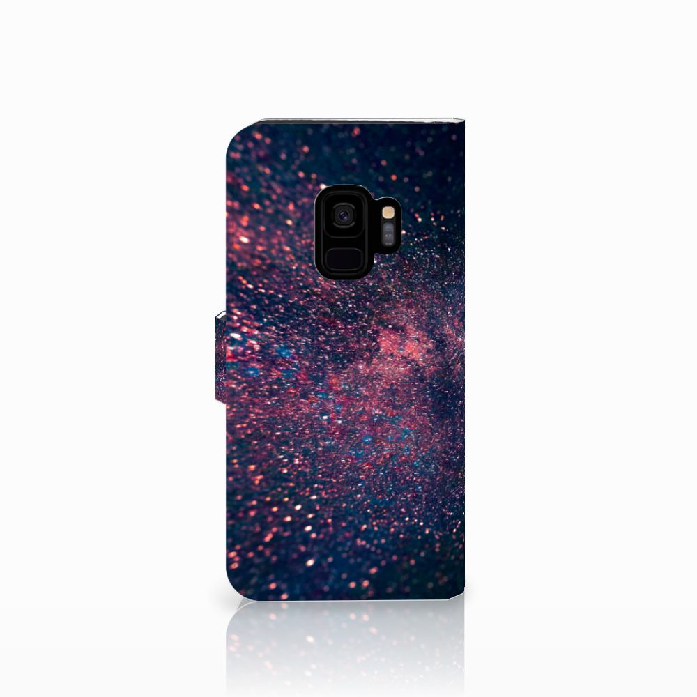Samsung Galaxy S9 Bookcase Stars