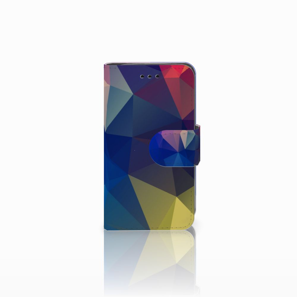 Samsung Galaxy Trend 2 Uniek Boekhoesje Polygon Dark