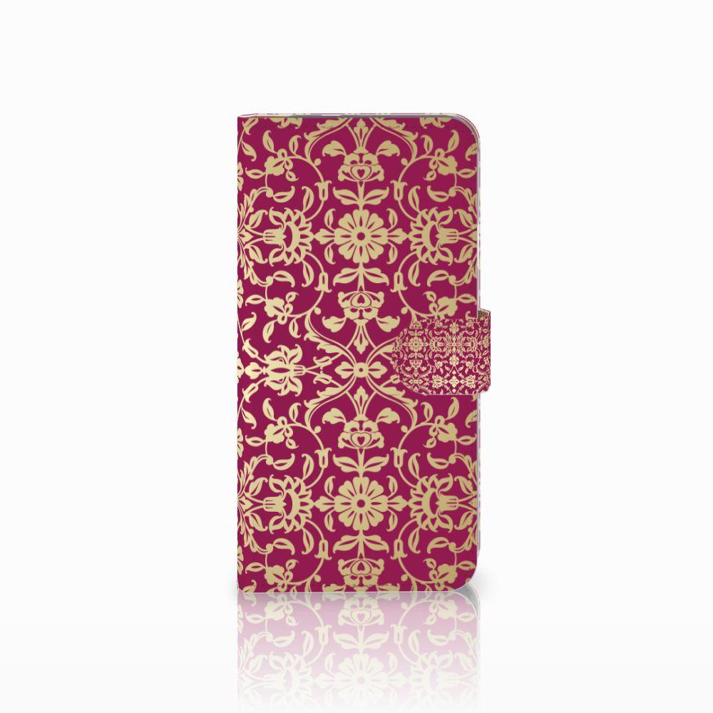 Google Pixel XL Boekhoesje Design Barok Pink