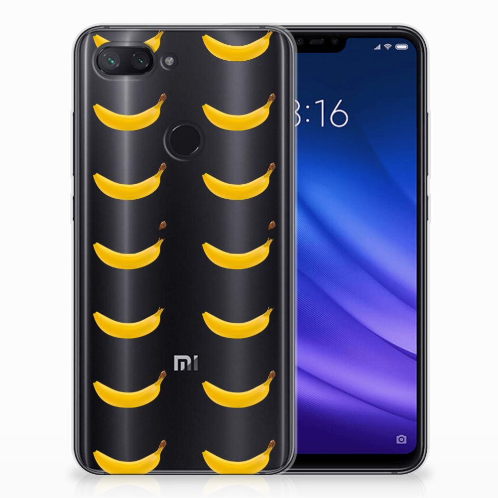 Xiaomi Mi 8 Lite Siliconen Case Banana