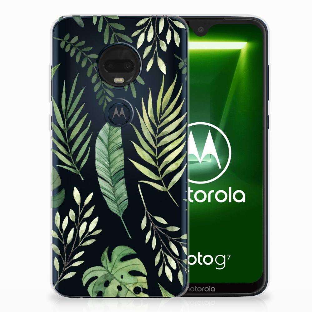 Motorola Moto G7 | G7 Plus TPU Case Leaves