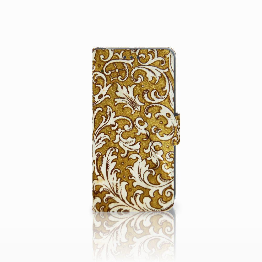 HTC U11 Life Boekhoesje Design Barok Goud