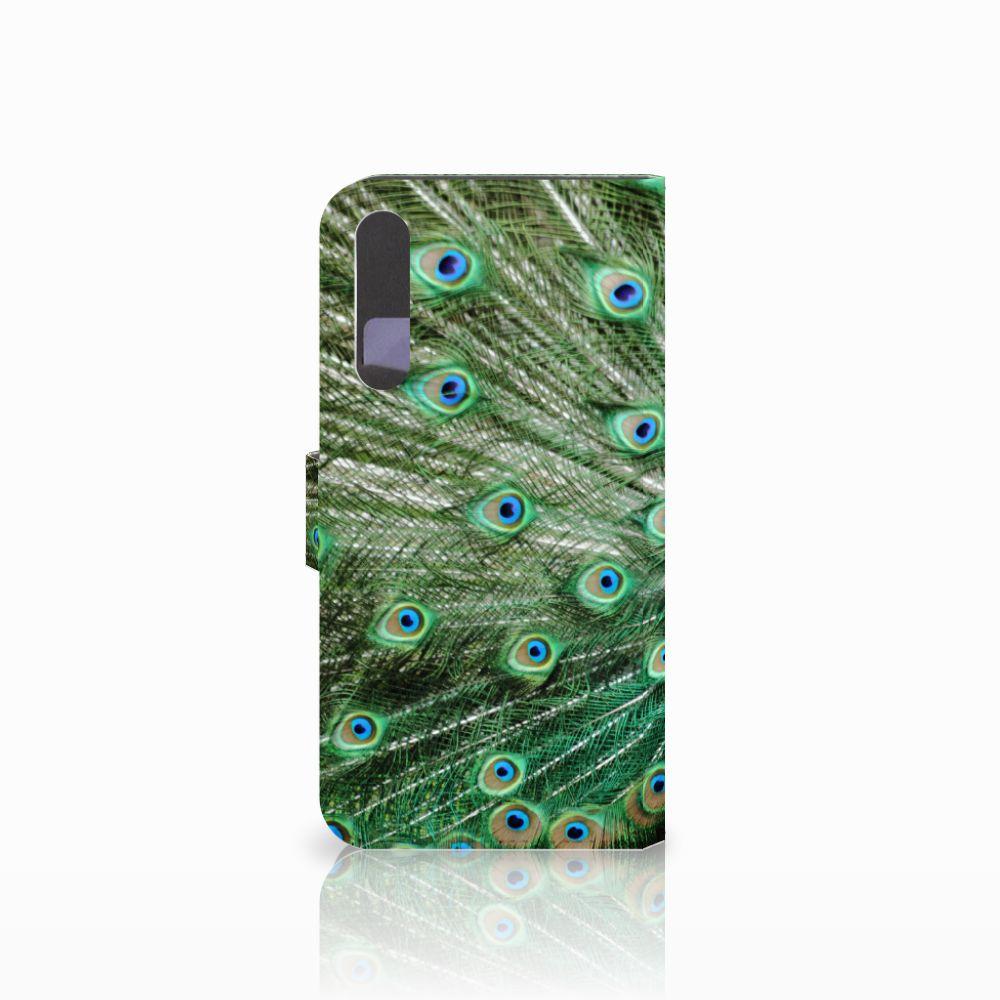 Huawei P20 Pro Telefoonhoesje met Pasjes Pauw