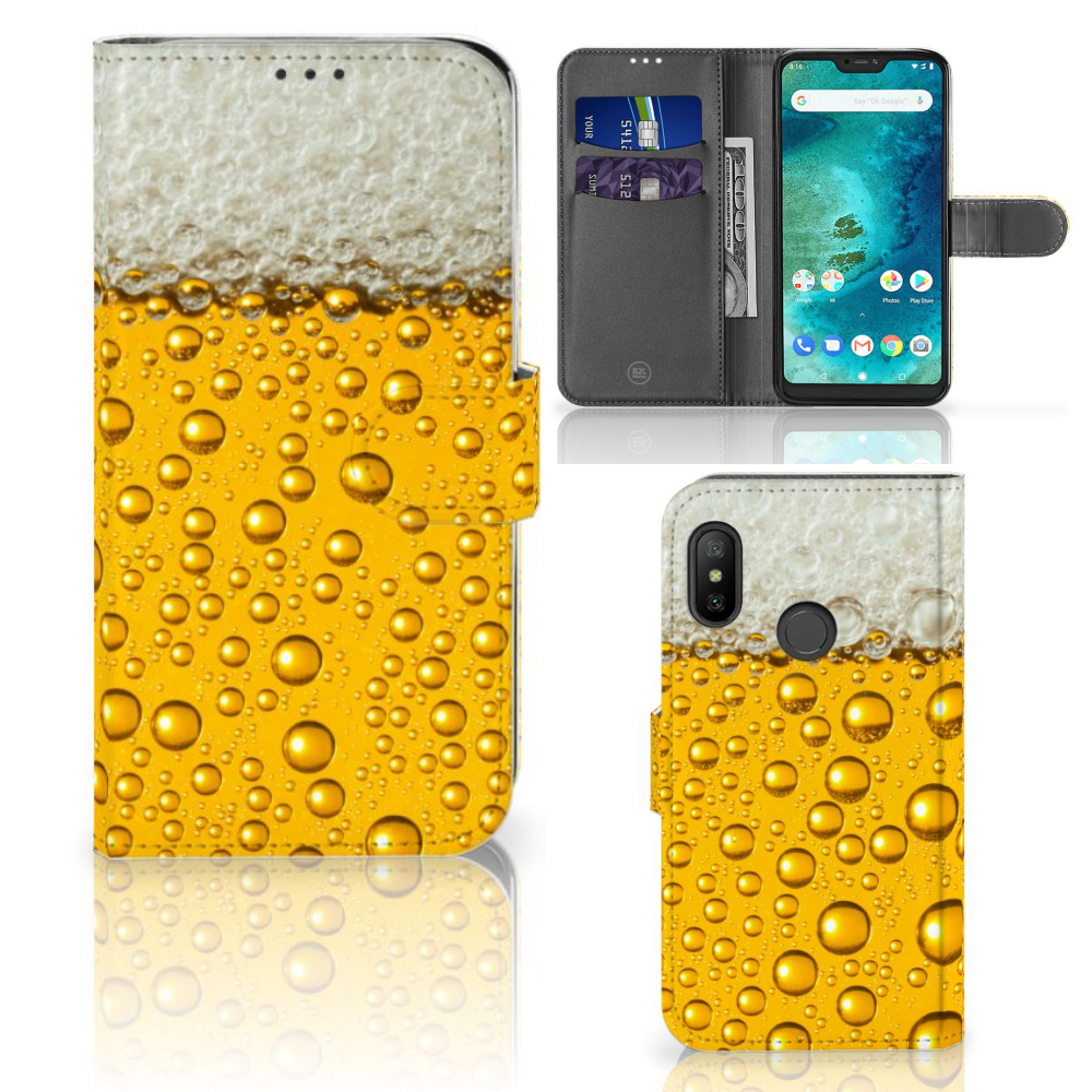 Xiaomi Mi A2 Lite Book Cover Bier