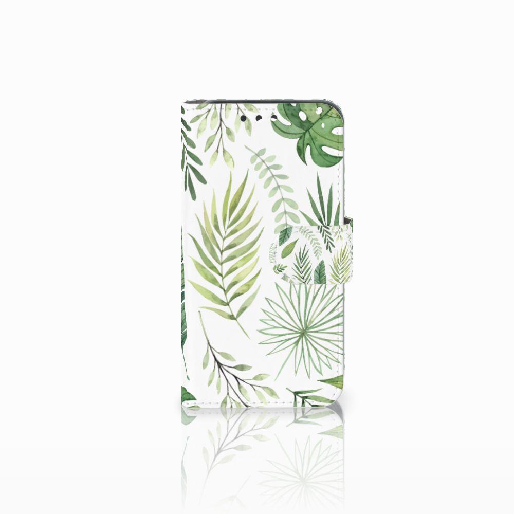 Huawei Y5 Y560 Uniek Boekhoesje Leaves