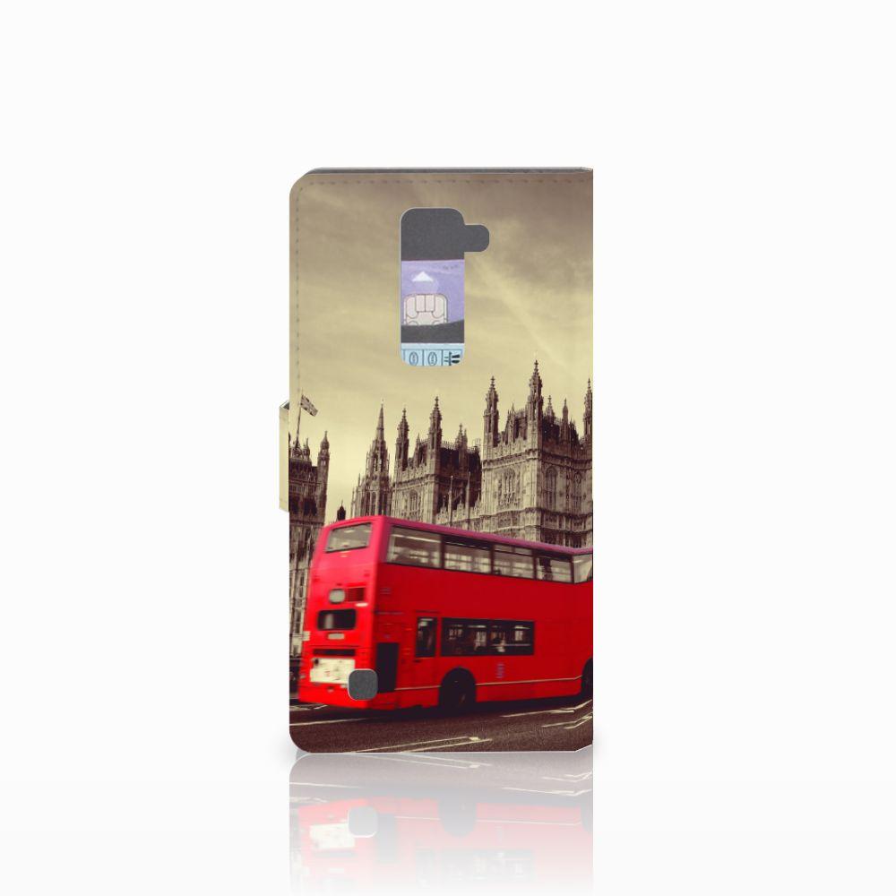 LG K10 2015 Flip Cover Londen