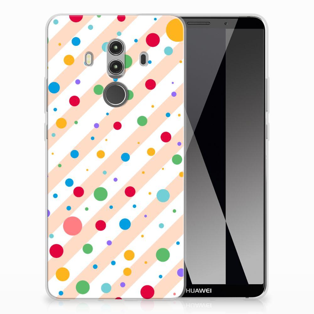 Huawei Mate 10 Pro TPU Hoesje Design Dots