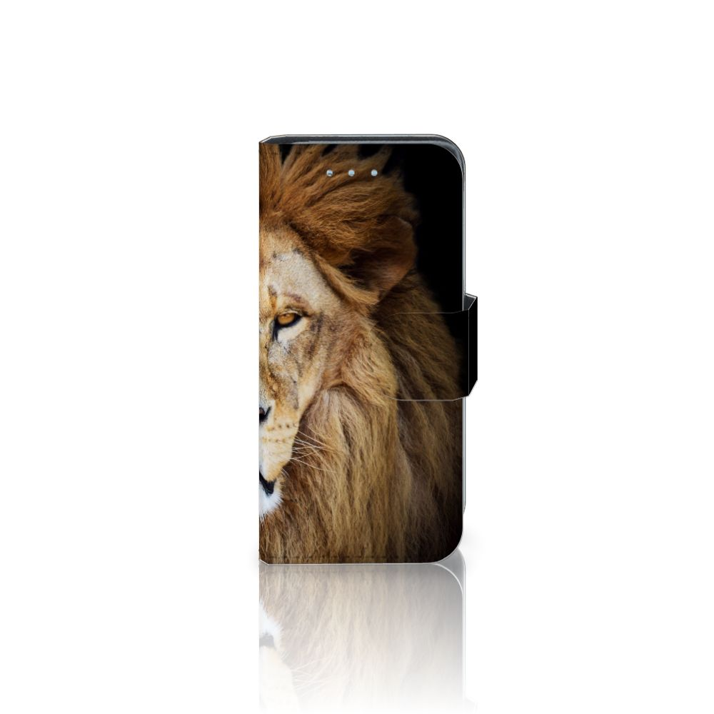 Samsung Galaxy S4 Mini i9190 Boekhoesje Design Leeuw