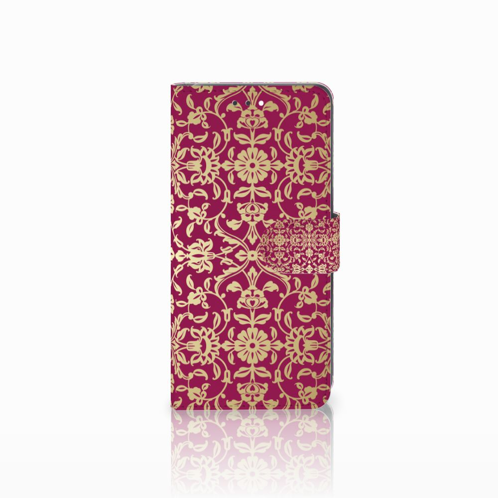 Wallet Case Huawei Y7 2018 Barok Pink