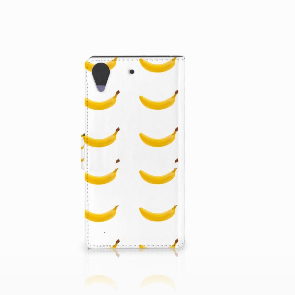 HTC Desire 628 Book Cover Banana