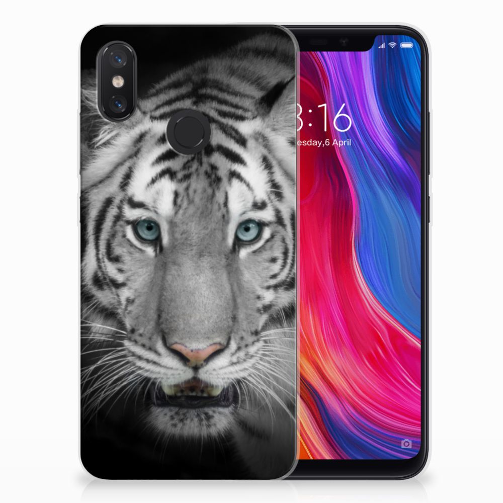 Xiaomi Mi 8 TPU Hoesje Tijger