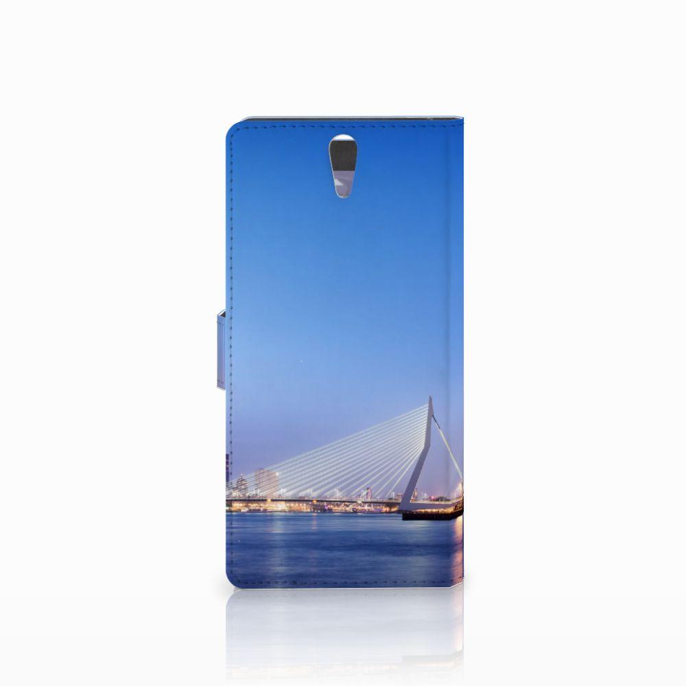Sony Xperia C5 Ultra Flip Cover Rotterdam