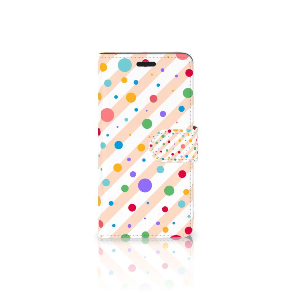 HTC 10 Boekhoesje Design Dots