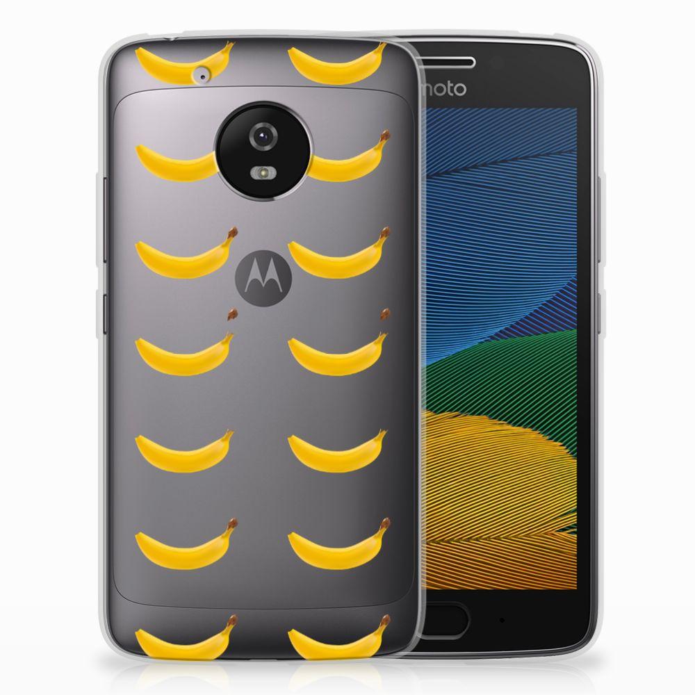 Motorola Moto G5 Siliconen Case Banana