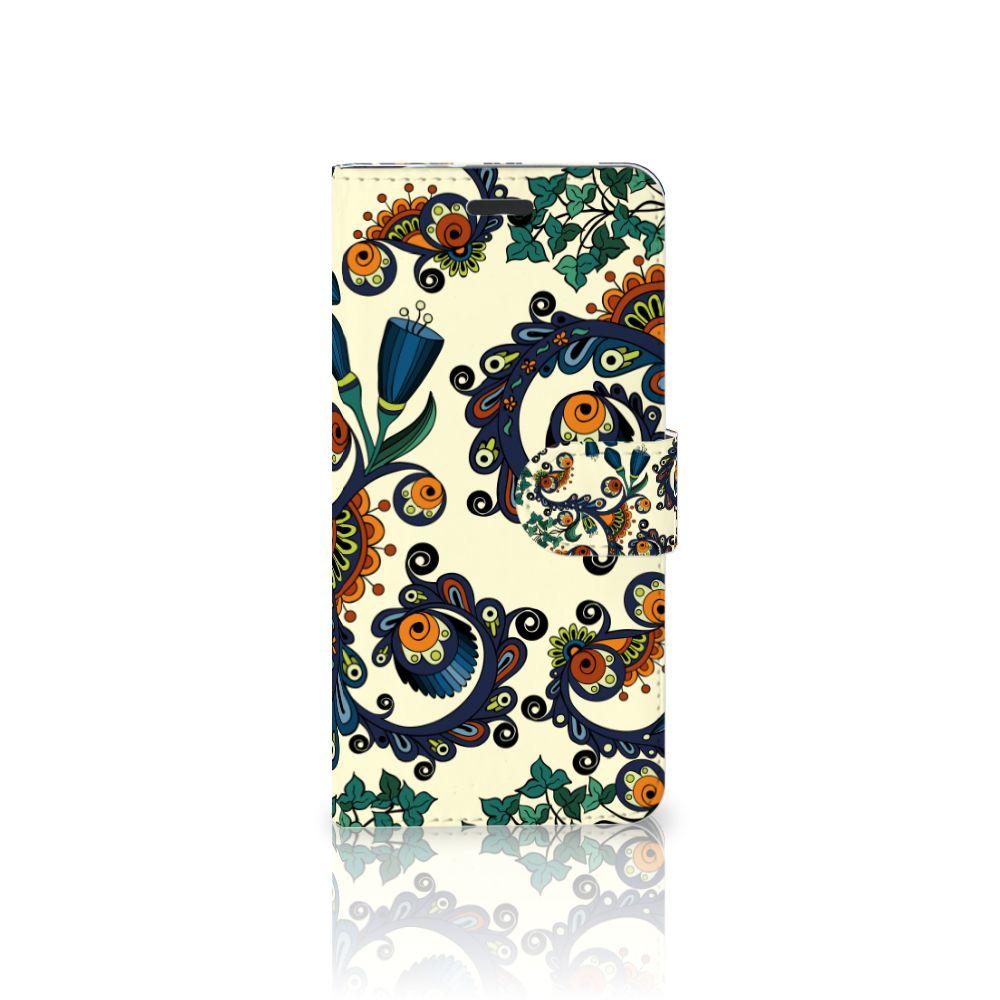Motorola Moto Z Boekhoesje Design Barok Flower