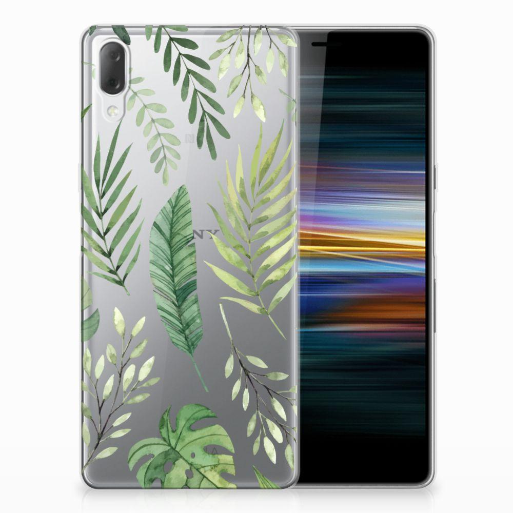 Sony Xperia L3 TPU Case Leaves