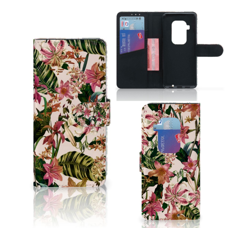 Motorola One Zoom Hoesje Flowers