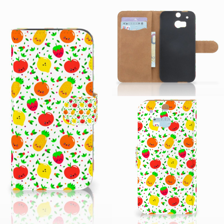 HTC One M8 Book Cover Fruits