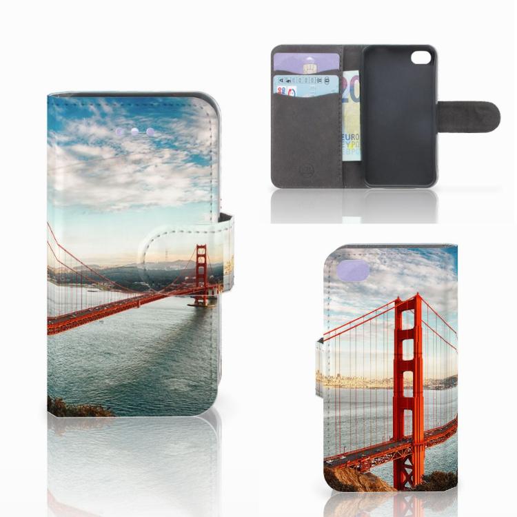 Apple iPhone 4 | 4S Flip Cover Golden Gate Bridge