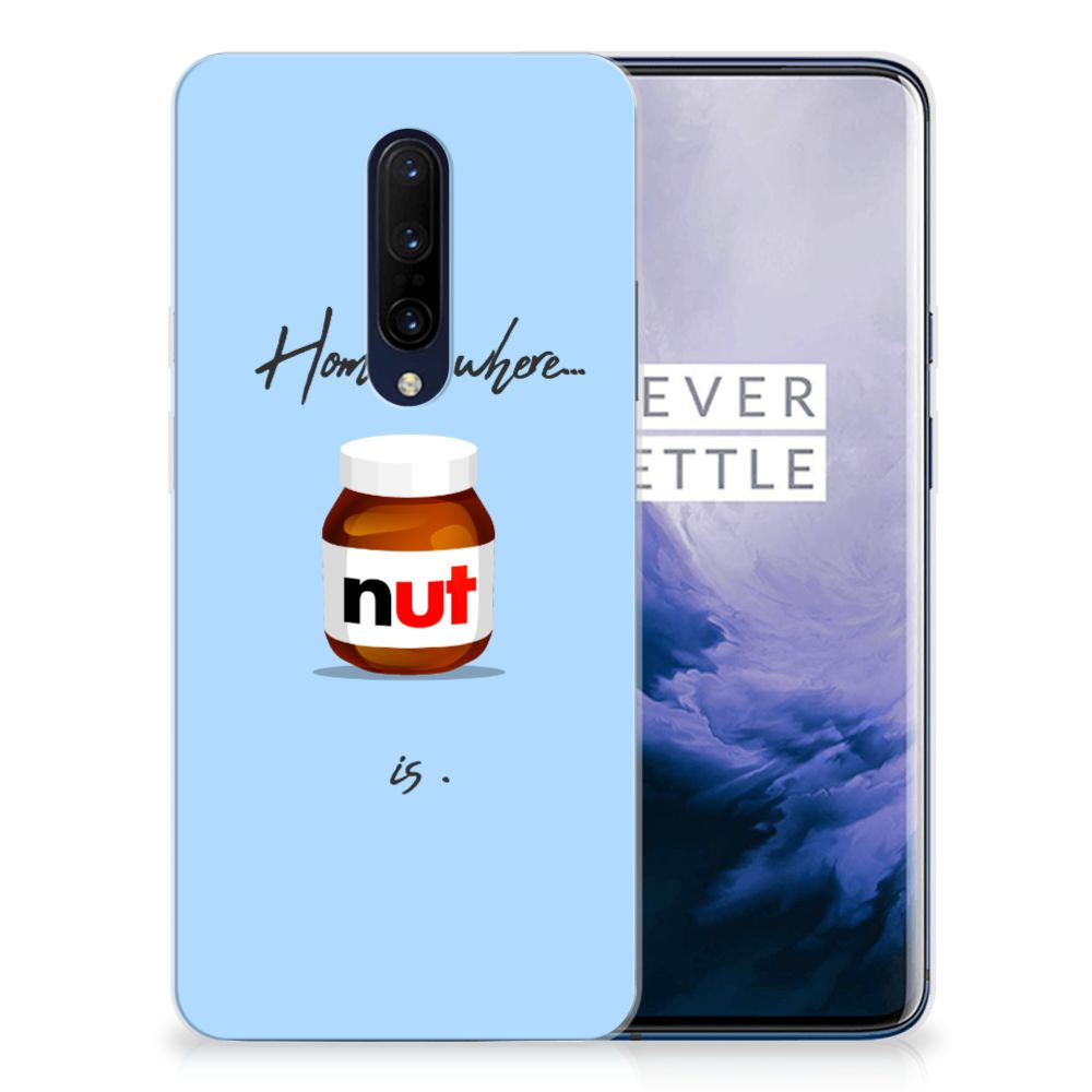 OnePlus 7 Pro Siliconen Case Nut Home