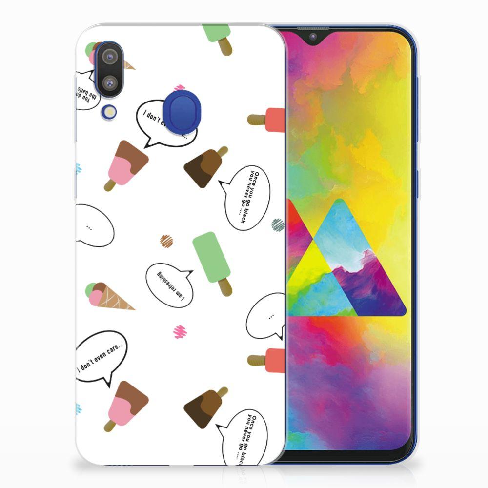 Samsung Galaxy M20 (Power) Siliconen Case IJsjes